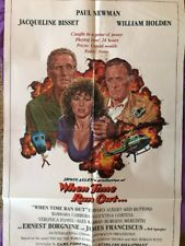 WHEN TIME RAN OUT / ORIGINAL ONE-SHEET U.S. MOVIE POSTER (PAUL NEWMAN)