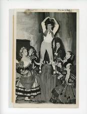 Paris, l'Alhambra, les ballets du Marquis de Cuevas Vintage silver Print