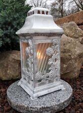 Grablaterne + LED Kerze+Granit Sockel Grablampe Lampe Grableuchte Grablicht NEU