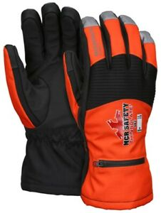 MCR Safety 982 Moderate Climate A6 Cut Resistant Gloves, 100g Thinsulate (M-2XL)