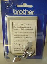 Brother Genuine Sewing Machine - Adustable Zipper & Piping Foot F036  XC1970002