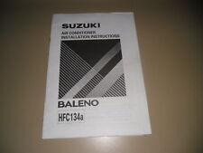 Einbauanleitung Air Conditioner Suzuki Baleno HFC134a