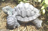 """Latex mother & baby turtle mold plaster concrete mould 5"""" x 4"""" x 2.20""""H"""