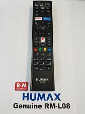 Genuine Humax RM-L08 For FVP-4000T FVP-5000 Freeview Box remote control NEW