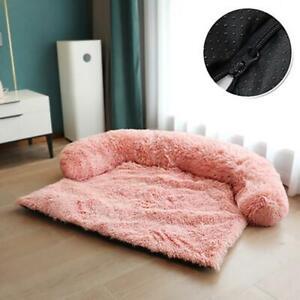 Pet House Sofa Mat Cushion Pad Blanket Sofa Cover Comfy Soft Plush Fluffy Warm