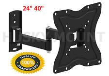 "Husky LED LCD Corner Friendly TV Wall Mount Bracket For 24"" 32"" 39"" 40"""