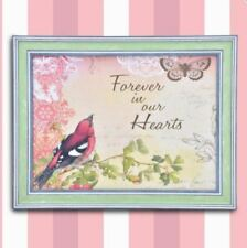 Wall Painting Picture Canvas Wooden Frame Art Modern Design-Forever in Hearts