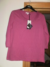 M & S 3/4 Sleeve Classic T-Shirt  BNWT Size 18