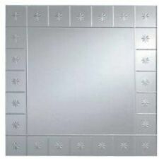 "Rectangle Modern Medium (12"" - 24"") Width Decorative Mirrors"