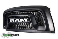 2015-2018 DODGE RAM 1500 MFM REBEL BLACK FRONT GRILLE GRILL OEM MOPAR GENUINE
