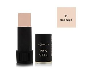 Max Factor Panstik Foundation - 12 True Beige