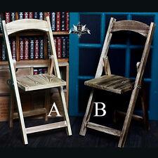 1/3 70cm BJD Folding chair Stool Wood Furniture Dollfie AOD MID EID SD DD ColorA