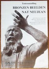 Nat Neujean - Bronzen beelden - Marcel van Jole - Karl Lunde - KB toren - 1993