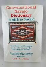 NEW Conversational Navajo Dictionary: English to Navajo Cassette Tape LANGUAGE