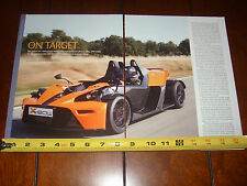 KTM X BOW  - ORIGINAL 2008 ARTICLE