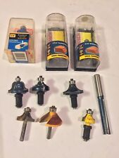 Lot Of Bosch Router Bits And Other