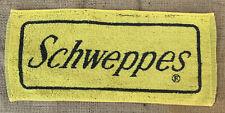 Vintage Yellow Schweppes British Bar Towel