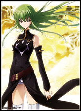 C97 Code Geass C.C. Circle Frontier Game Doujin Character Card Sleeves Anime Art