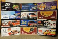 Case of 12 - 1/24 2005-2007 NASCAR Diecast Cars Made by Action - NEW in boxes!