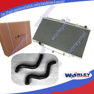 Alloy Radiator & BLACK hose fit FOR NISSAN PATROL GU Y61 3.0L ZD30 CR 00-06 AUTO