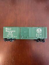 MARX Great Northern Railway Rd# GN 11874 Green Box Car Sliding Doors  HO Scale