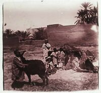 Algeria Maghreb France Colonialism Photo Plate Glass Stereo Vintage LC Motorbike