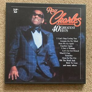 Ray Charles - 40 Greatest Hits (3 LP Vinyl Box Set)