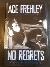 ACE FREHLEY No Regrets Signed Autographed Ltd Ed KISS 2011 1st/1st HC/DJ