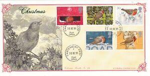 30 OCT 1995 CHRISTMAS BRADBURY VICTORIAN PRINTS FIRST DAY COVER CANTERBURY CDS