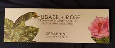 SERAPHINE BOTANICALS Rhubarb + Rose Creamy Lip and Cheek Palette (NEW)