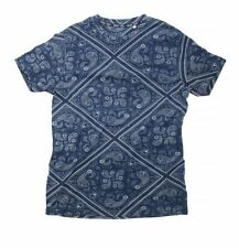 Cotton Paisley Graphic Tees for Men