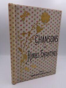 J.B. Weckerlin & Henri Pille : Chansons et rondes enfantines 1885