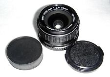 Asahi smc Pentax K Mount 24mm F2.8 Lens Great Condition Very Clean + Caps & Case