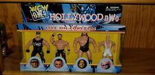 WCW NWO HOLLYWOOD 4 PACK WRESTLING FIGURE BOX SET OSFTM HOGAN BUFF STEINER GIANT