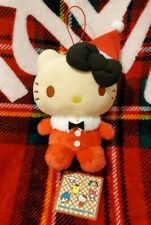 New! Eikoh Sanrio Hello kitty Exciting Merry Christmas Doll Real Soft Plush 22cm