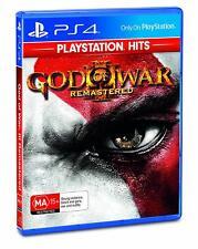 God of War 3 Remastered Ps4 - Sony PlayStation 4 Game SELLER Oz