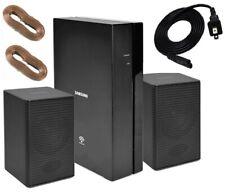 Samsung SWA-8000S Wireless Rear Speaker Receiver & PS-KS1-1 Speakers (Full Kit)