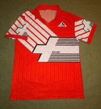 SWITZERLAND NATIONAL TEAM 1990/1992 HOME FOOTBALL SHIRT BLACKY SIZE 4 M/L