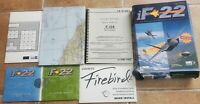 iF-22 Flight Simulator PC CD-Rom Game Big Box