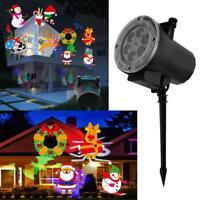 Outdoor Christmas Lights Projector Lamp Waterproof Snowflake Laser Lamp Decor