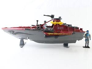 "Moray Cobra Hydrofoil + Lampreys Figure 1985 Vintage GI JOE ARAH 3.75"" Hasbro"