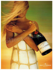 MOET & CHANDON Champagne Girl - Celebration advertisement A4 size HQ print