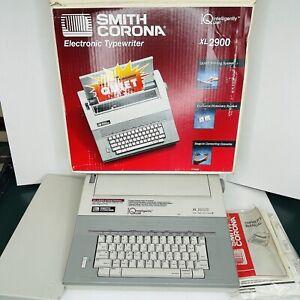 Smith Corona Portable Electronic Quiet Typewriter XL2900 Vintage Electric
