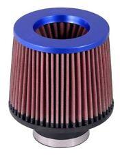"RR-3002 K&N Reverse Conical Air Filter 3""FLG, 6""B, 5-1/4""T, 5""H; BLUE TOP"