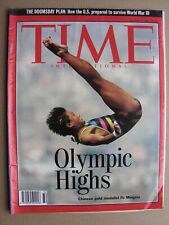 TIME MAGAZINE August 10 1992 Barcelona Olympics, Saddam Hussein, Nuclear Attack