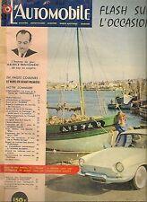 L'AUTOMOBILE 158 1959 RENAULT FLORIDE TRIUMPH HERALD ASTON MARTIN DBR4 LE MANS