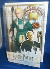 HARRY POTTER QUIDDITCH DRACO MALFOY COLLECTOR DOLL, NEW