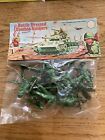 Vintage BATTLE DRESS COMBAT SOLDIERS x10 Carded packet Plastic Hong Kong WOOLBRO