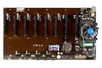 Onda B250-D8P Riserless Mining Motherboard 8-12 GPU w/ CPU, RAM, SSD