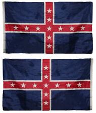 3x5 Polk Battle Double Sided 2 ply Nylon Poly Premium Quality Flag 3'x5' Banner